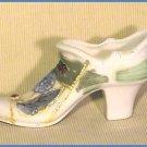 VINTAGE Porcelain SLIPPER Shoe SOUVENIR