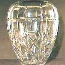 Elegant Cut Crystal Ovoid Vase