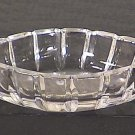 Cut Glass Oval Open Salt