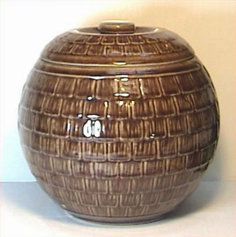 Vintage Honeycomb Cookie Jar by McCoy