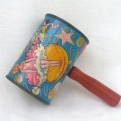 Tin Litho New Year Noisemaker Vintage