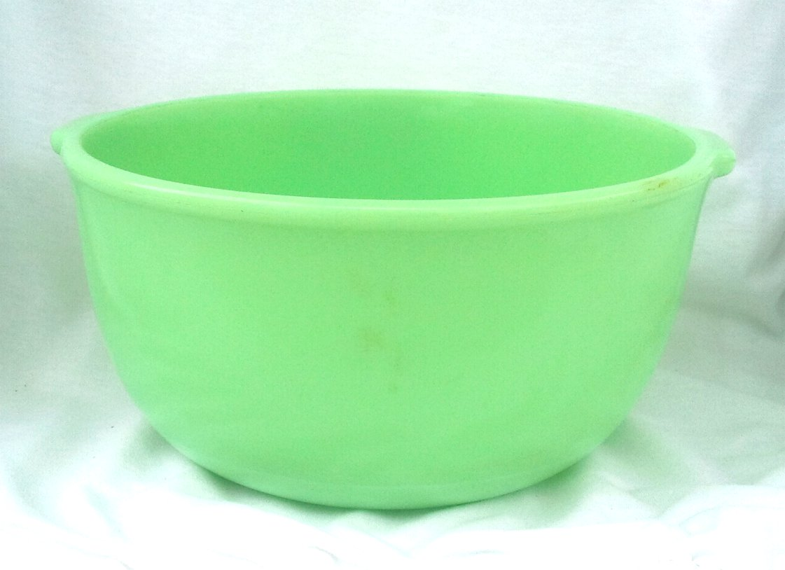 Jadeite Mixing Bowl for Electric Mixer by Fire King