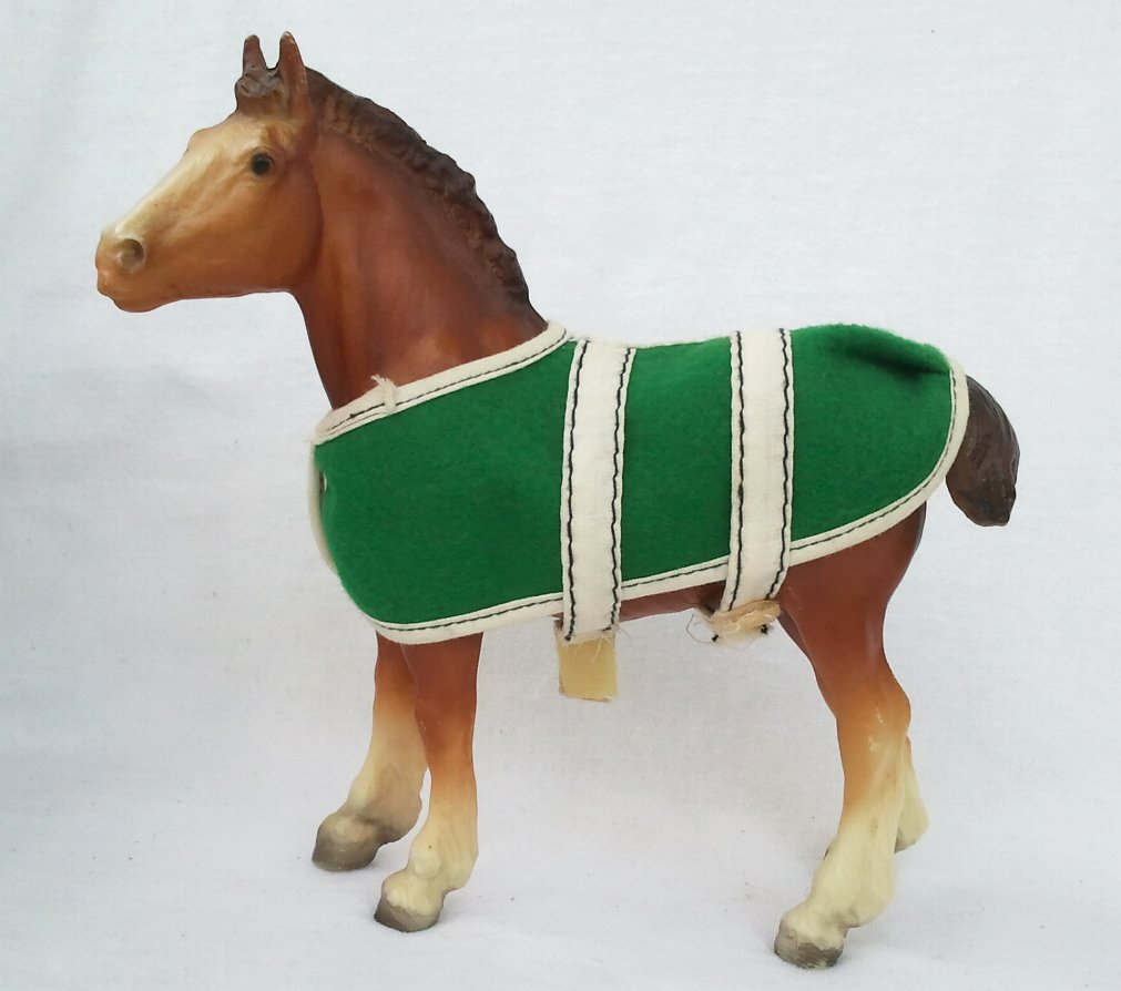 Traditional Series Clydesdale Foal with Blanket by Breyer