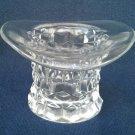 Fostoria 'American' Crystal Top Hat Vase 3 Inch
