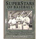 Superstars of Baseball by Bob Broeg - Ford, Aaron, Robinson, Mantle, more
