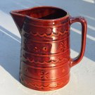 Marcrest Daisy and Dot Water Jug Dark Brown