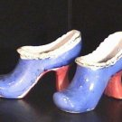 Pair Porcelain High Heeled Slippers /Shoes Made in Japan