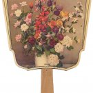 Advertising Paper Fan Floral Ca.1940 Florist