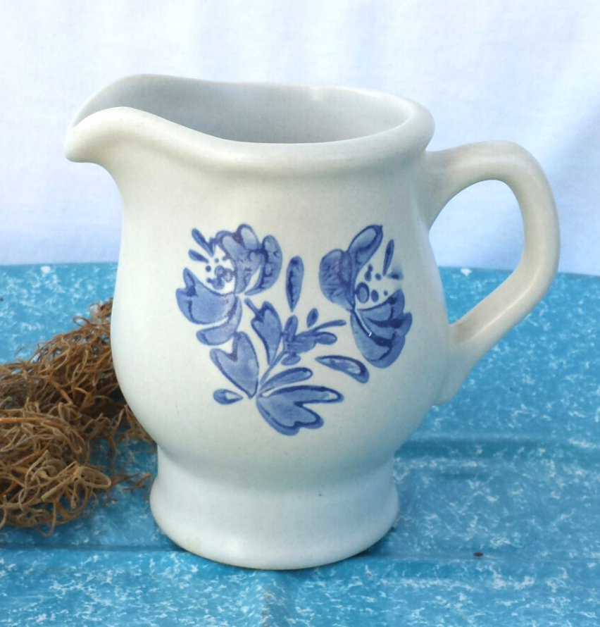 Pfaltzgraff Yorktowne Creamer or Small Pitcher Vintage Made in USA