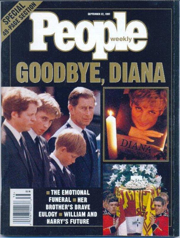 People Magazine Princess Diana Goodbye 1997 Mother Teresa