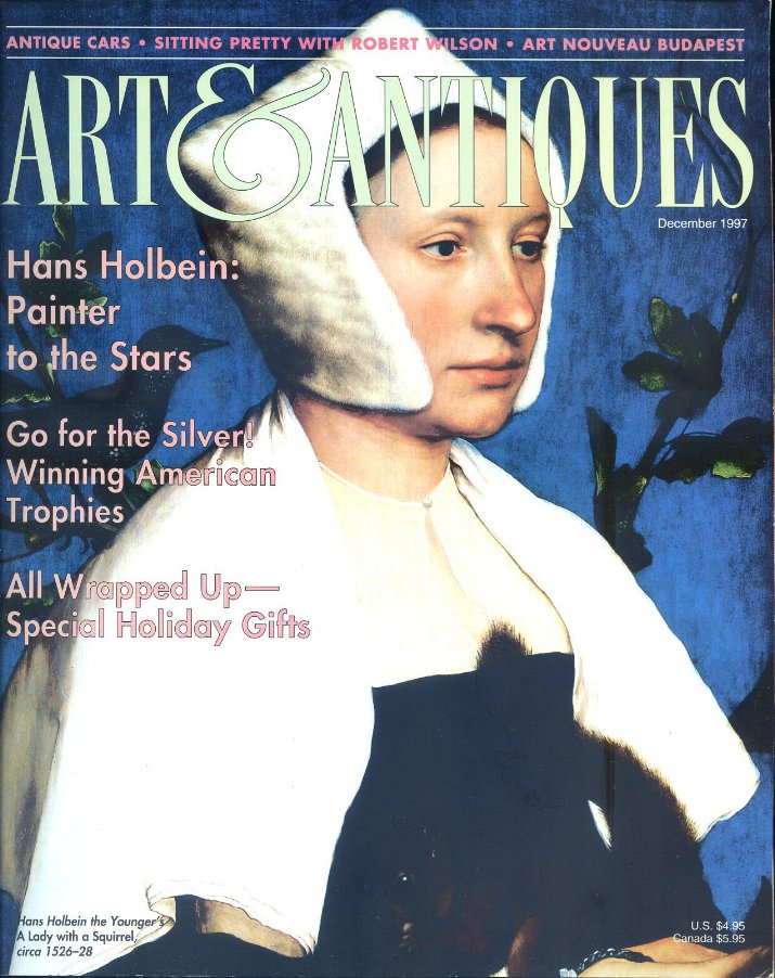 Art & Antiques Magazine Dec. 1997 - Antique Autos, Budapest, Spanish Folk Art