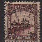 PAKISTAN 1948/57 - Scott 33 used - 4a, Ghulan Muhammed Dam (6-549)