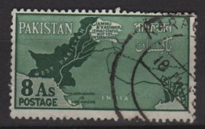 Pakistan 1960 - Scott 110 used -8a, Border dispute with India (6-564)