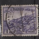 PAKISTAN 1961 - Scott 129  used - 1p, Khyber pass  (6-567)
