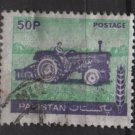 Pakistan 1978/81 - Scott  466 used - 50p, tractor (6-606)