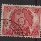 Australia 1946  - Scott 203 used - 2.1/2p, Sir Thomas Mitchell (S-619)