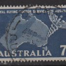 Australia 1957  - Scott  305  used - 7p, Royal flying Doctor service (T-711)
