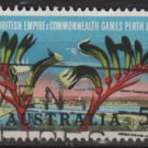 Australia 1962  - Scott  349  used - 5p, Commonwealth games (T-720)