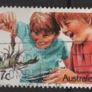 Australia 1987   - Scott 1040 used -37c, Children (T-730)