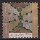 Australia 1988  - Scott  1087  used - 37c, Aboriginal painting (T-735)