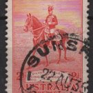 Australia 1935  - Scott 152 used - 2p, George V on Horse (6-635)
