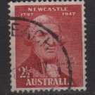Australia 1947  - Scott 207 used - 2.1/2p, John Shortland (6-636)