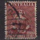 Australia 1950 - Scott  229 used -  2.1/2p, Victoria (6-640)