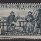 Australia 1963 - Scott 355 used - 5p, Explorers, 1st crossing of the Blus Mts (6-655)