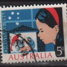 Australia 1964  - Scott  384 used -  5p, Christmas (6-656*)