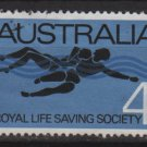 Australia 1966  - Scott  421 used -  4c, Royal life saving society, rescue (6-657)