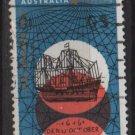 Australia 1966  - Scott  423 used -  4c, Dirk Hartog's discovery  (6-659)