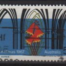 Australia 1967  - Scott  429 used -  5c, Christmas (6-662)