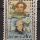 Australia 1991  - Scott 1226 used - $1.05, G. Vancouver & E. J. Eyre  (6-672)