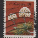Australia 1973/84  - Scott  564 used -  18c, Flowers (6-692)