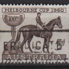 Australia 1960  - Scott  337 used -  5p, Cent. of Melbourne Cup (6-696)