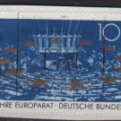 Germany 1989 -  Scott 1578  used - 100pf, Council of Europe 40th anniv. (7-32)