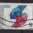 GERMANY 1990 - Scott 1609 used - 80pf,  Intl Chamber of commerce (H-26)