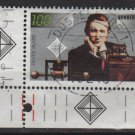 GERMANY 1995 - Scott 1900 used - 100pf, Radio centenary, G. Marconi  (7-38)