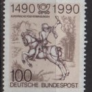 Germany 1990 - Scott 1592 MNH -  100pf,  The Young Post rider (u-534)