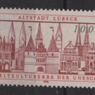Germany 1990 - Scott 1594 MNH -  100pf,  Lubeck in UNESCO  (7-54)