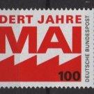 Germany 1990 - Scott 1599  MNH-  100pf,  1. Mai, Labor Day  (7-67)