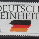 Germany 1990 - Scott 1613  MNH -  100pf, German Reunification (7-74)