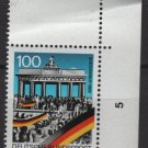 Germany 1990 - Scott 1618 MNH -  100pf, Opening of the Berlin Wall 1st Anniv (7-784)