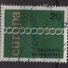 Germany 1971 - Scott 1064 used - 20pf,Europa issue (7-85)
