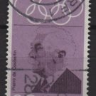 Germany 1968 - Scott 986 used - 20pf, Pierre de Coubertin (7-86)