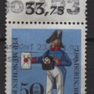 Germany semi-postal 1966  - Scott  B417  used - 50 + 25 pf, Prussian Letter Carrier (7-90)