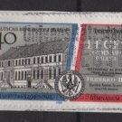 BERLIN 1989 - Scott 9N582 - 40pf, French Gymnasium 300th Anniv.  (7-116)