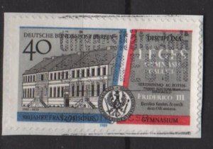 BERLIN 1989 - Scott 9N582 - 40pf, French Gymnasium 300th Anniv.  (7-116)