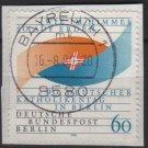 BERLIN 1990 - Scott 9N590 used - 90th German Catholics day   (7-117)