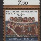 Berlin semi-postal 1988 - Scott 9NB265 MH - 50 + 25 pf, Christmas (7-124)